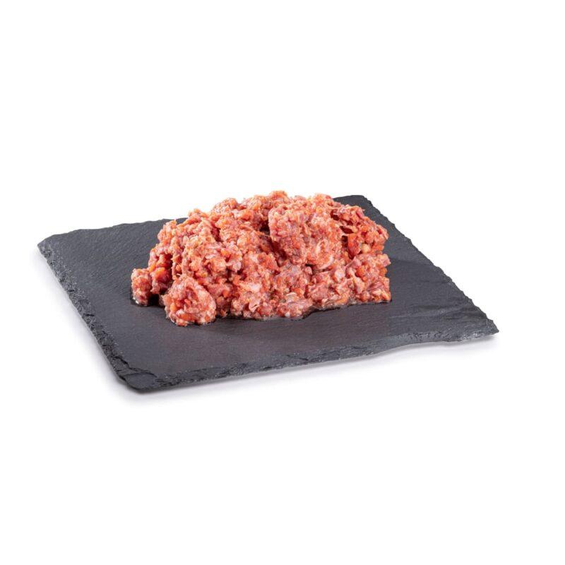 BARF Lammfleischmix Gemüse Rohfleisch, Barf-Hundefutter vom Metzger im Paribal Online Shop bestellbar