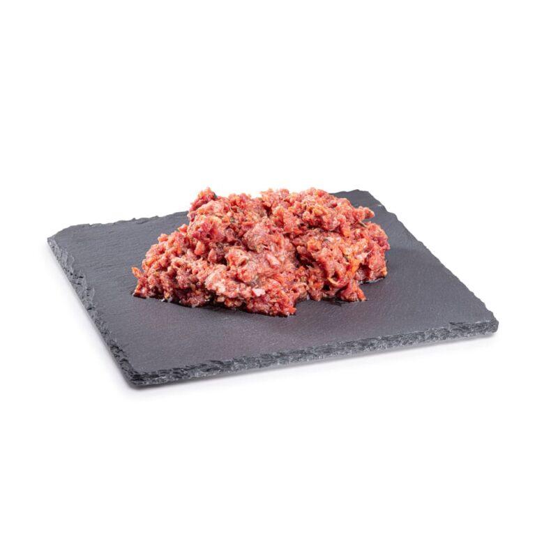 BARF Pferdemix Gemüse Rohfleisch, Barf-Hundefutter vom Metzger im Paribal Online Shop bestellbar