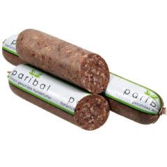Hundewurst Rind-Getreidewurst im Sterildarm Bild