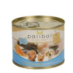 Fisch-Gemüse Menü 185g Alleinfuttermittel Hundefutter Bild