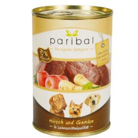 Hirsch-Gemüse Menü 385g Alleinfuttermittel Hundefutter Bild