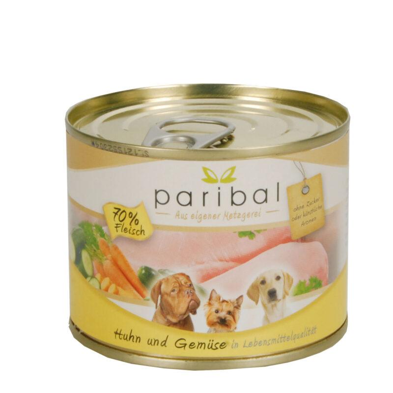 Huhn-Gemüse Menü 185g Alleinfuttermittel Hundefutter Bild