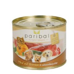 Pferd-Gemüse Menü 185g Alleinfuttermittel Hundefutter Bild