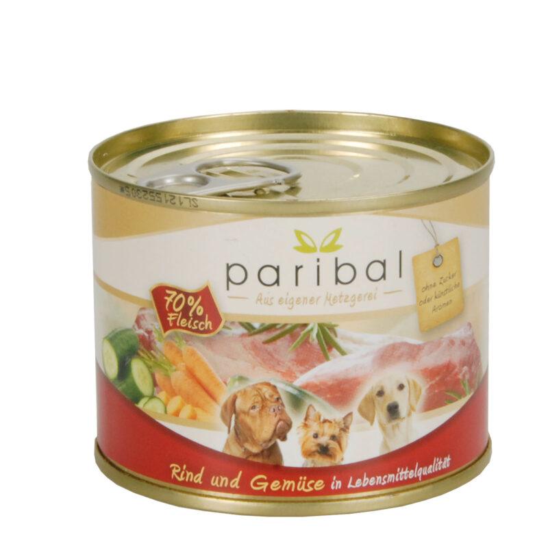 Rind-Gemüse Menü 185g Alleinfuttermittel Hundefutter Bild
