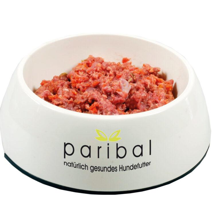Hühnchenfleischmix Gemüse Rohfleisch Barf Hundefutter Bild